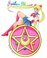 Sailor moon by Arukia