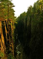 Kjosterud gorge by francis1ari