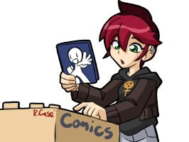 Julie comic hunting doodle by rongs1234