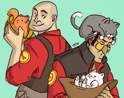 tf2: :3 by DemonBunny