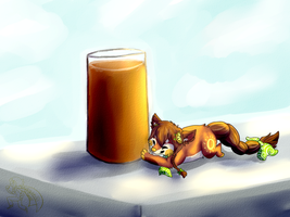 Hottest Day in Summer: DTA by galestormKitsune