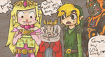 Collab:what are you doing Zelda by IceCreamLink