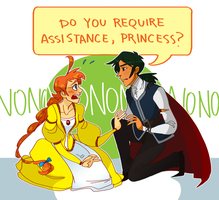 ridiculous royalty au by Shusihi