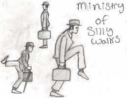 The Ministry Of Silly Walks by ShellShock92