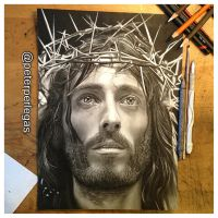 Jesus of Nazareth by peterperlegas