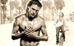 Charlie Hunnam Wallpaper by DianaP