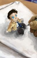 Castiel: Doodle to Reality by Zafona