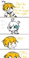 Len, you butthurt :I by Kittycat98