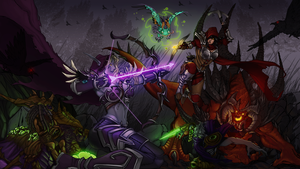 Heroes of The Storm by SarahJaneArt