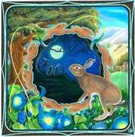 Here a Hare Dreams by Ravensrow