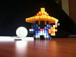 Black Mage by VoxelPerlers
