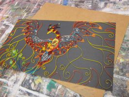 Sacred Fire- A Quilling Project by Acturiesa