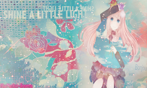 Shine a little light - Megurine Luka. by KuNeko-Sama