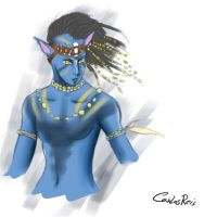 AVATAR Scketch - Jakesully by CarlosHReis