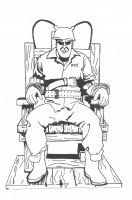 Electric Chair Ink Wip1 by Blaze-Belushi