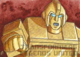 Golden Lagoon Ironhide Award Card by Kenai-Okami75