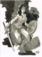 Wonder Woman by Red-J