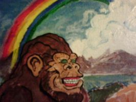 Bigfoot Rainbow by kennypick