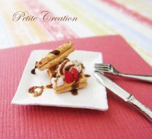 12th scale waffle plate 2 by PetiteCreation