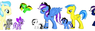 Calecune (my OC)'s Family (updated) by RamenWolf1485
