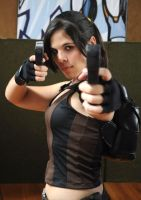 Lara Croft in action by Jessie-TR