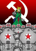 Red Star Army by mja42x
