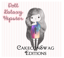 Doll Glaxy Hipster by CakeconSwag