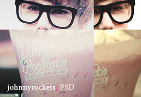 johnnyrockets psd by Kiickass