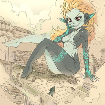 GIgant Midna by ManiacPaint