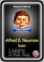 Alfred E. Neuman Icon by Radical-Believer