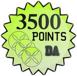 3500 Points by TheRedCrown