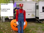 Me as MARIO by jimmy272