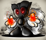 Evil Fella..Welcome to the End by WhiteSpiritWolf