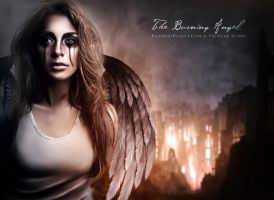 The burning Angel by FP-Digital-Art
