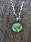 Necklace ''Waterlily'' on ETSY by LeslieProngue
