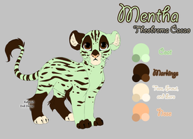 Mentha Ref Sheet by Crickatoo