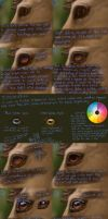 Horse Eye Tutorial by MinervasMuse