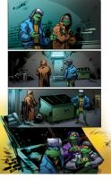 COLOR PORTFOLIO: TMNT pag6 of issue 7 by shiprock