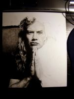 WIP - Dave Mustaine by Red-Szajn