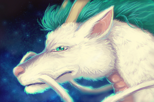 Haku-Spirited Away by hummeri9