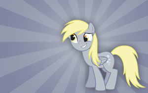 Derpy 2 Wallpaper by juniberries