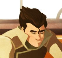 Mako's tactics, Bolin close-up by Saperlotte