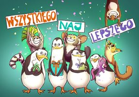 Penguin wishes by JuKii
