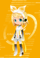 Apped Rin Kagamine by aerith31