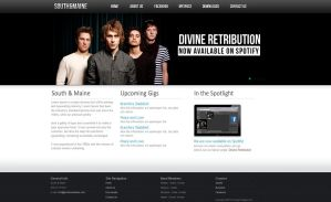 Clean Band or Company site by E-moX