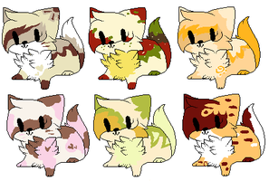 Food themed adopts - FREE - CLOSED by Wickaii