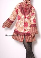 Red Orange Pink Cotton Coat 4 by yystudio