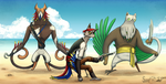 Ragtag Band of Pirates by Super-kip