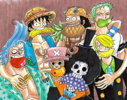 one piece, Fruits by heivais