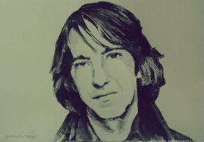 Alan Rickman by KaterinaSonne